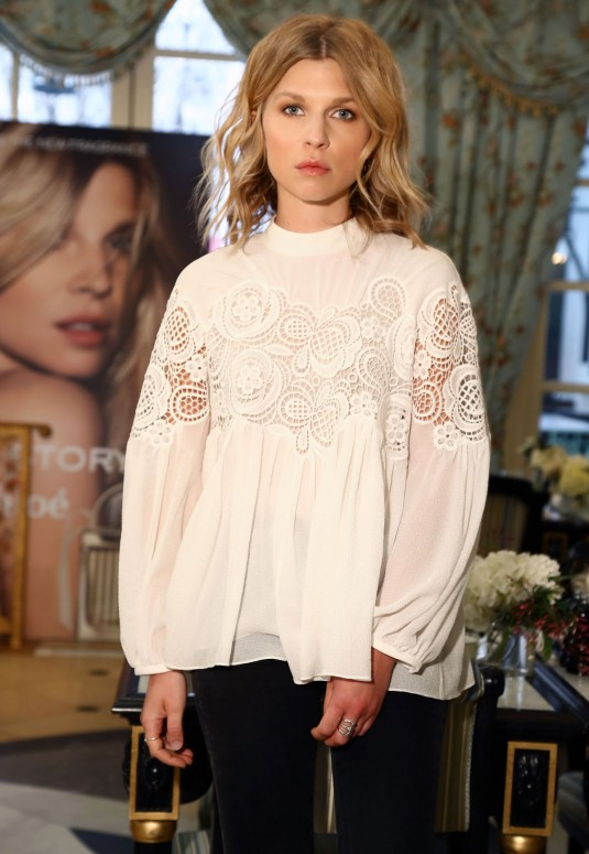 CLEMENCE POESY at Chloe Love Story Fragrance Launch