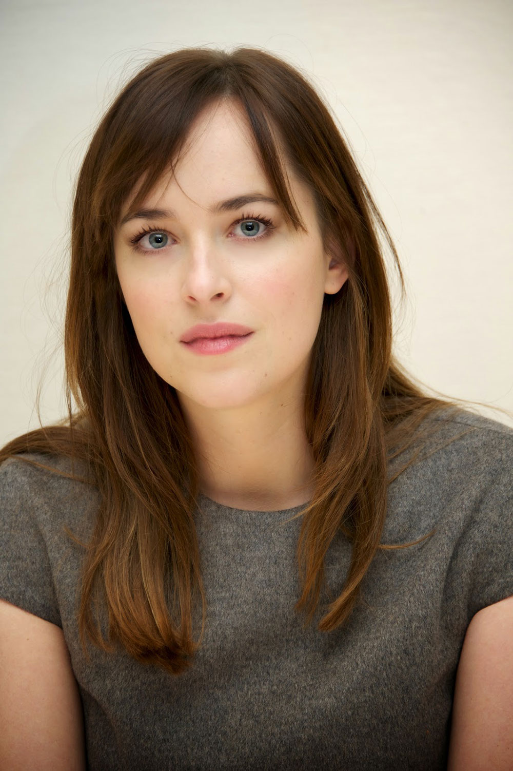 Dakota Johnson Fifty Shades Of Grey Press Conference Hawtcelebs