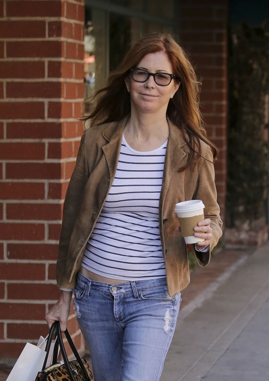 DANA DELANY in Jeans Out in Beverly Hills