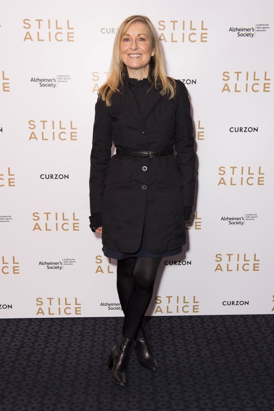 FIONA PHILLIPS at Still Alice VIP Screening in London