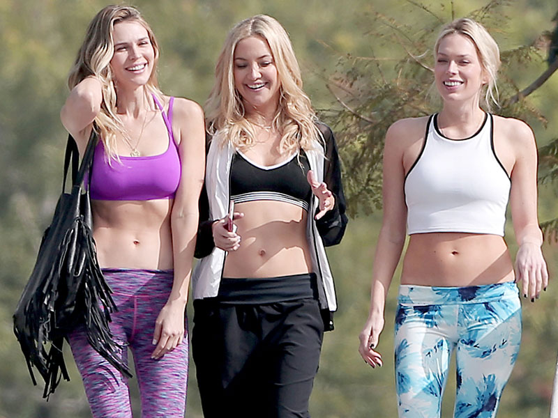 Sophie Cookson Personal: KATE HUDSON In Sports Bra For Fabletics Photoshoot