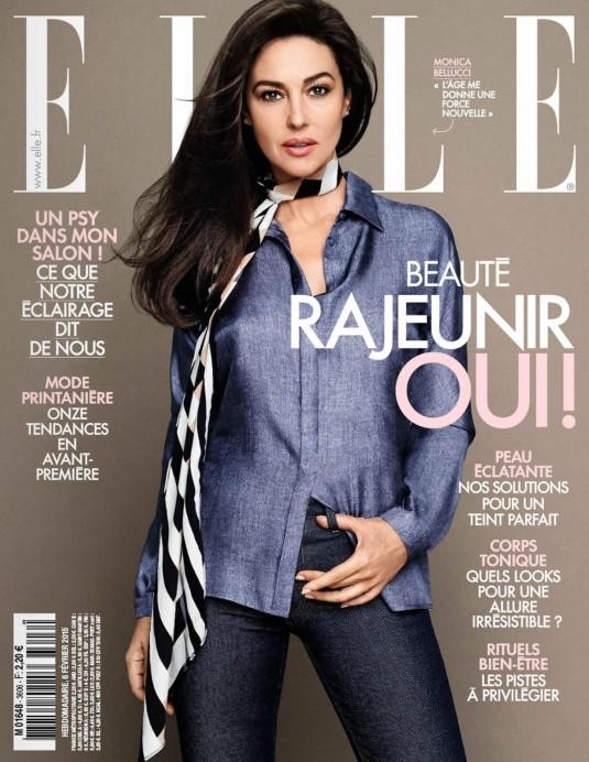 MONICA BELLUCCI in Elle Magazine