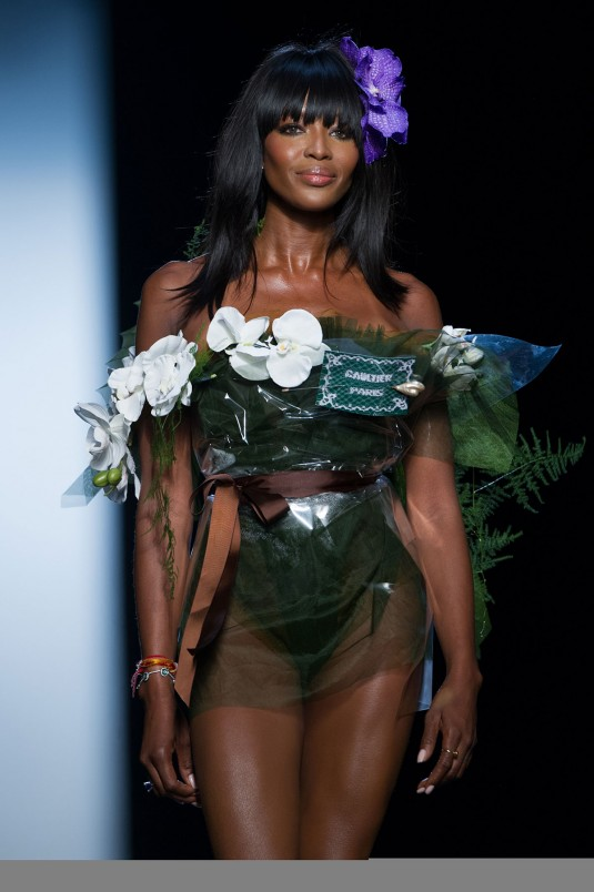 NAOMI CAMPBELL at Jean-Paul Gaultier Fashion Show
