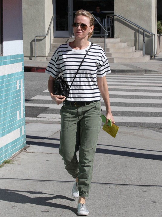 NAOMI WATTS Out in Santa Monica