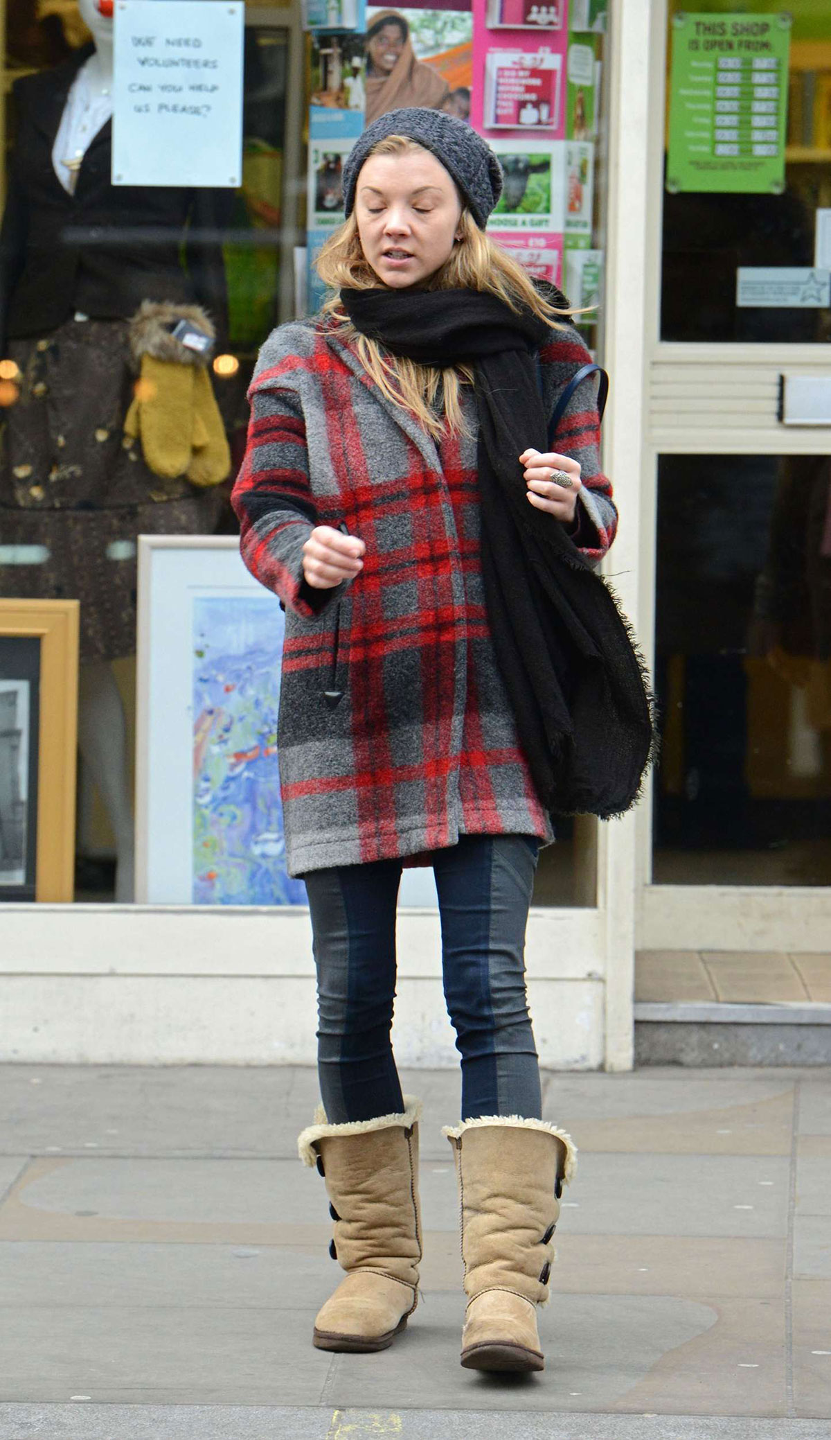 natalie dormer out and about in london hawtcelebs