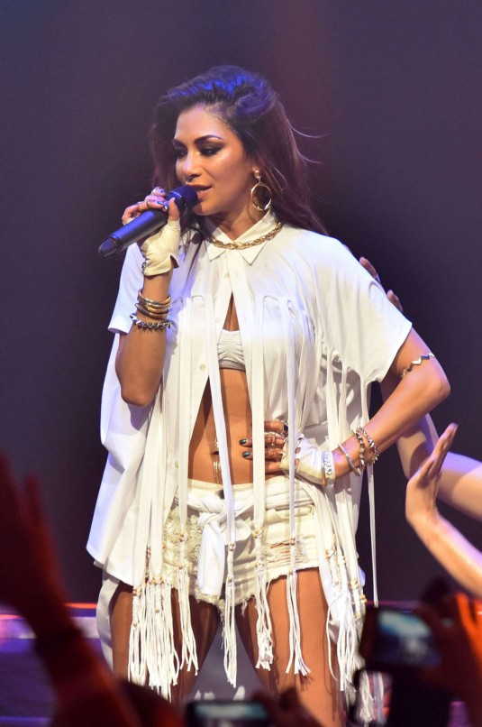 NICOLE SCHERZINGER Performs at Valentines Day Love Ball in Manila