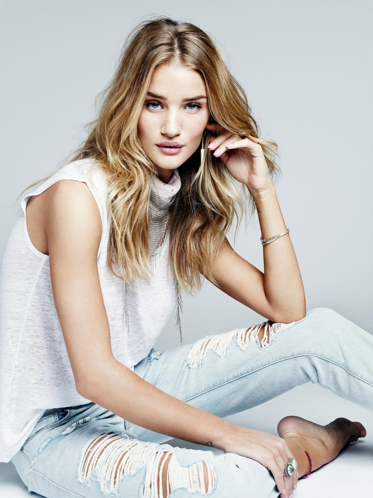 Rosie Huntington-Whiteley @ the M&S Lingerie Launch in