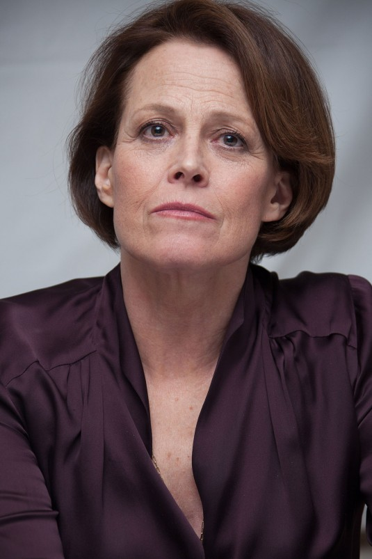 SIGOURNEY WEAVER at Chappie Press Conference