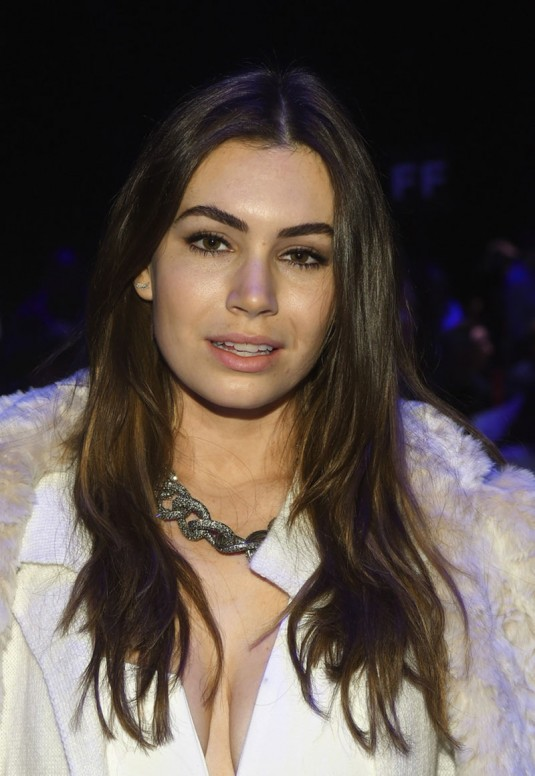SOPHIE SIMMONS at Son Jung Wan Fashion Show