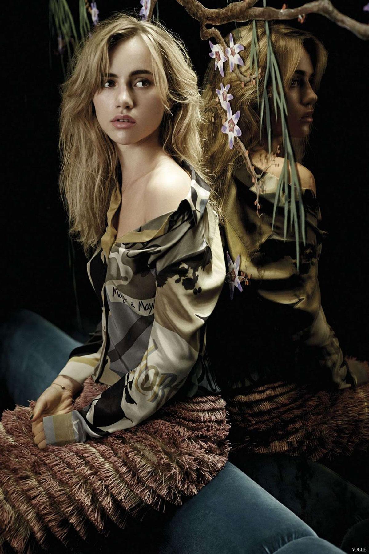 Suki Waterhouse - Photoshoot for Marie Claire Magazine