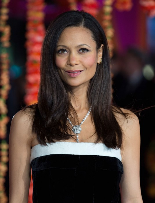 THANDIE NEWTON at Premiere of The Second Best Exotic Marigold Hotel