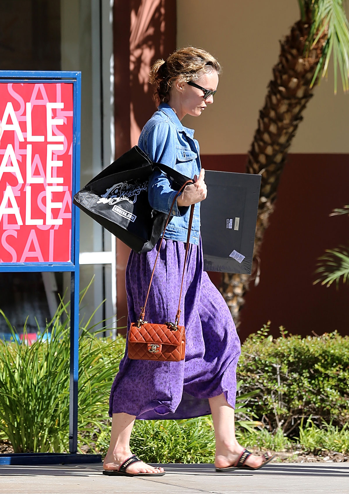 VANESSA PARADIS Shops at Aaron Brothers in Studio City Vanessa Paradis