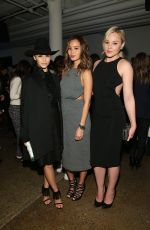 ABBIE CORNISH at Cushnie et Ochs Fashion Show in New York