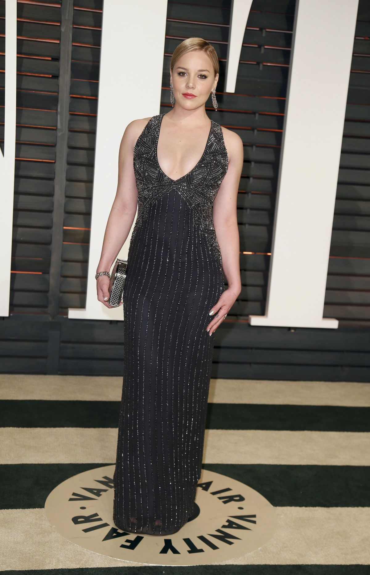 ABBIE CORNISH at Vanity Fair Oscar Party in Hollywood Abbie Cornish