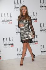 ABIGAIL ABBEY CLANCY at Elle Style Awards in London