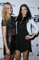 ADRIANA LIMA at 2015 Leather & Laces Super Bowl XLIX Party in Phoenix