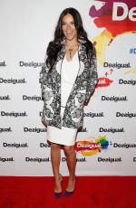 ADRIANA LIMA at Desigual Fall 2015 Fashion Show in New York