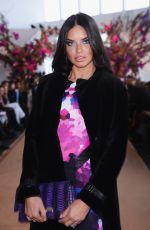 ADRIANA LIMA at Gabriela Cadena Fall/Winter 2015 Fashion Show in New York