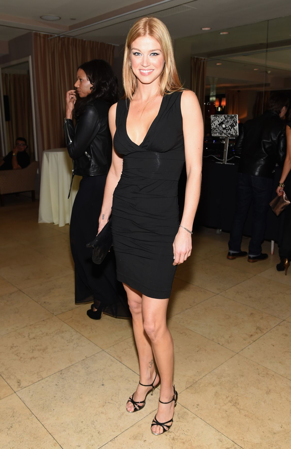 ADRIANNE PALICKI at Grey Goose Pre-oscar Party in West Hollywood