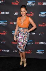 ADRIENNE BAILON at Roc Nation Grammy Brunch in Beverly Hills
