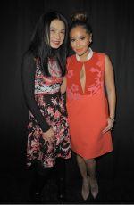 ADRIENNE BAILON at Vivienne Tam Fall 2015 Fashion Show in New York