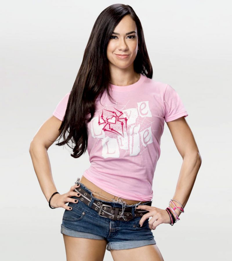 AJ LEE Pictures Gallery - HawtCelebs - HawtCelebs Aj Lee Clothes Line