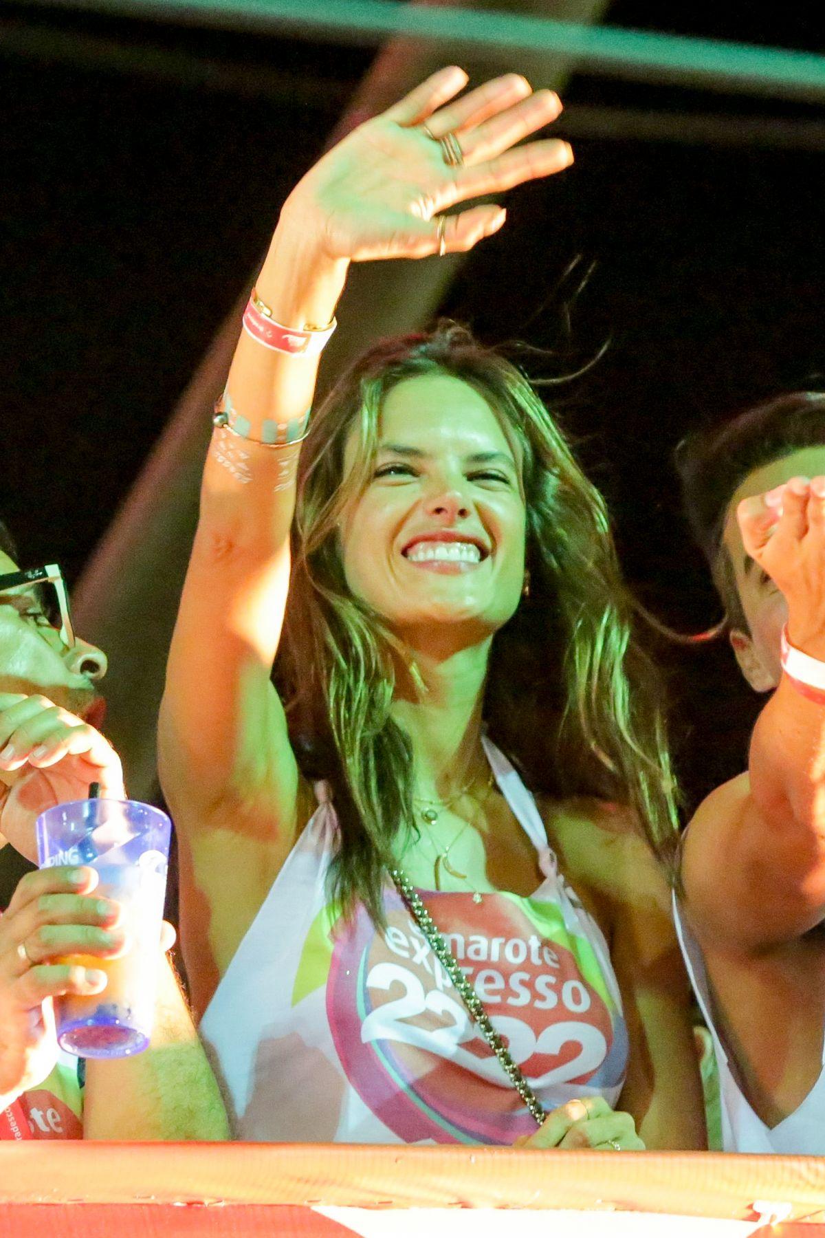 ALESSANDRA AMBROSIO at Carnival in Brazil