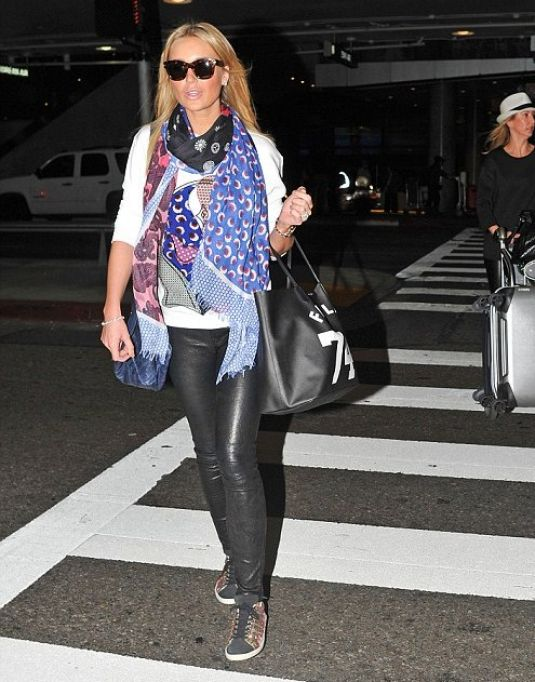 ALEX GERRARD Arrives at LAX Airport in Los Angeles 0402