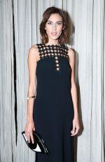 ALEXA CHUNG at Fashion Week Celebration at Locanda Verde in New York
