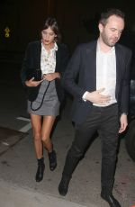 ALEXA CHUNG Night Out in West Hollywood 3101