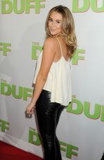 ALEXA VEGA at The Duff Premiere in Hollywood