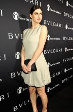 ALEXANDRA DADDARIO at Bvlgari and Save the Children stop. think. give. Pre-oscar Gala in Beverly Hills