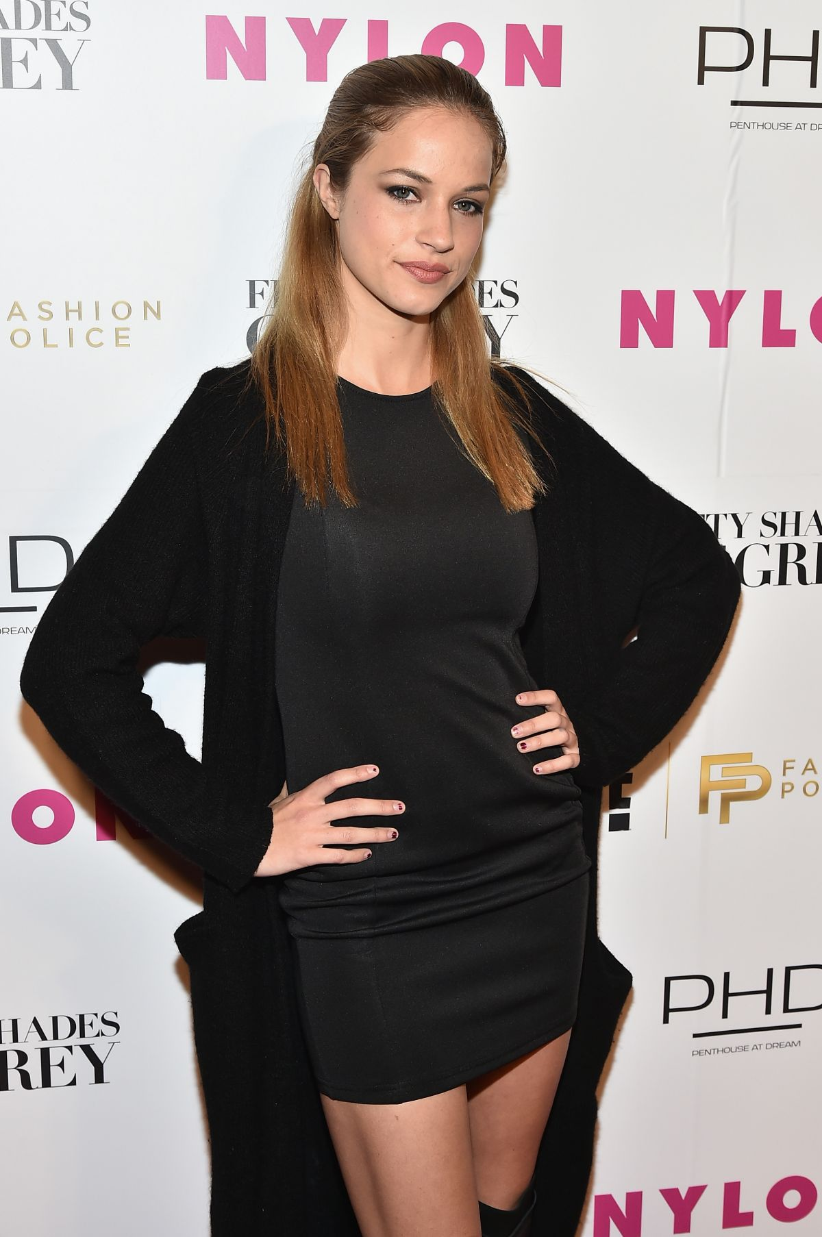 ALEXIS KNAPP at NY Fashion Week Kickoff with Fifty Shades of Fashion Event in New York