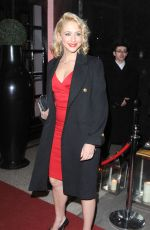 ALI BASTIAN at British Heart Foundation's Roll Out the Red Ball in London
