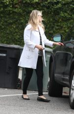 ALI LARTER Leaves Walther School in West Hollywood