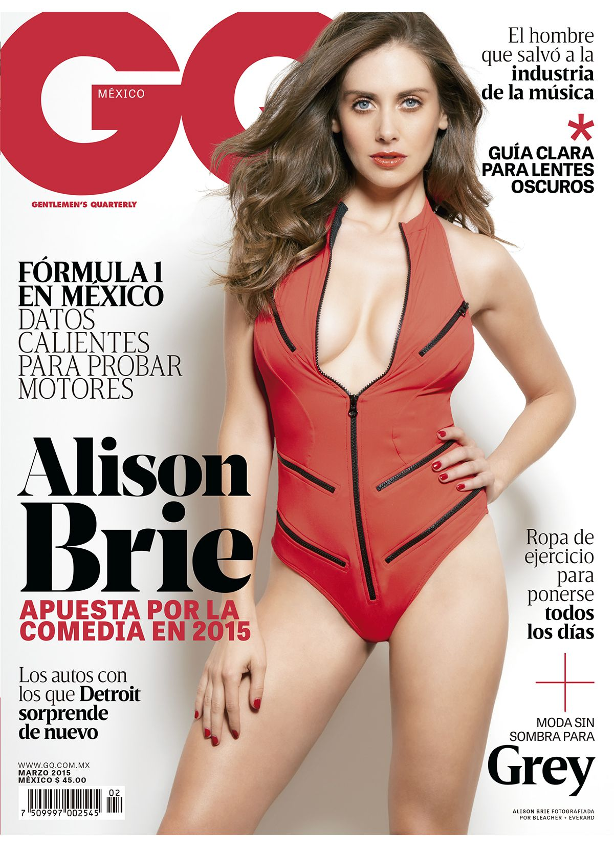 ALISON BRIE in GQ Magazine, Mexico March 2015 Issue