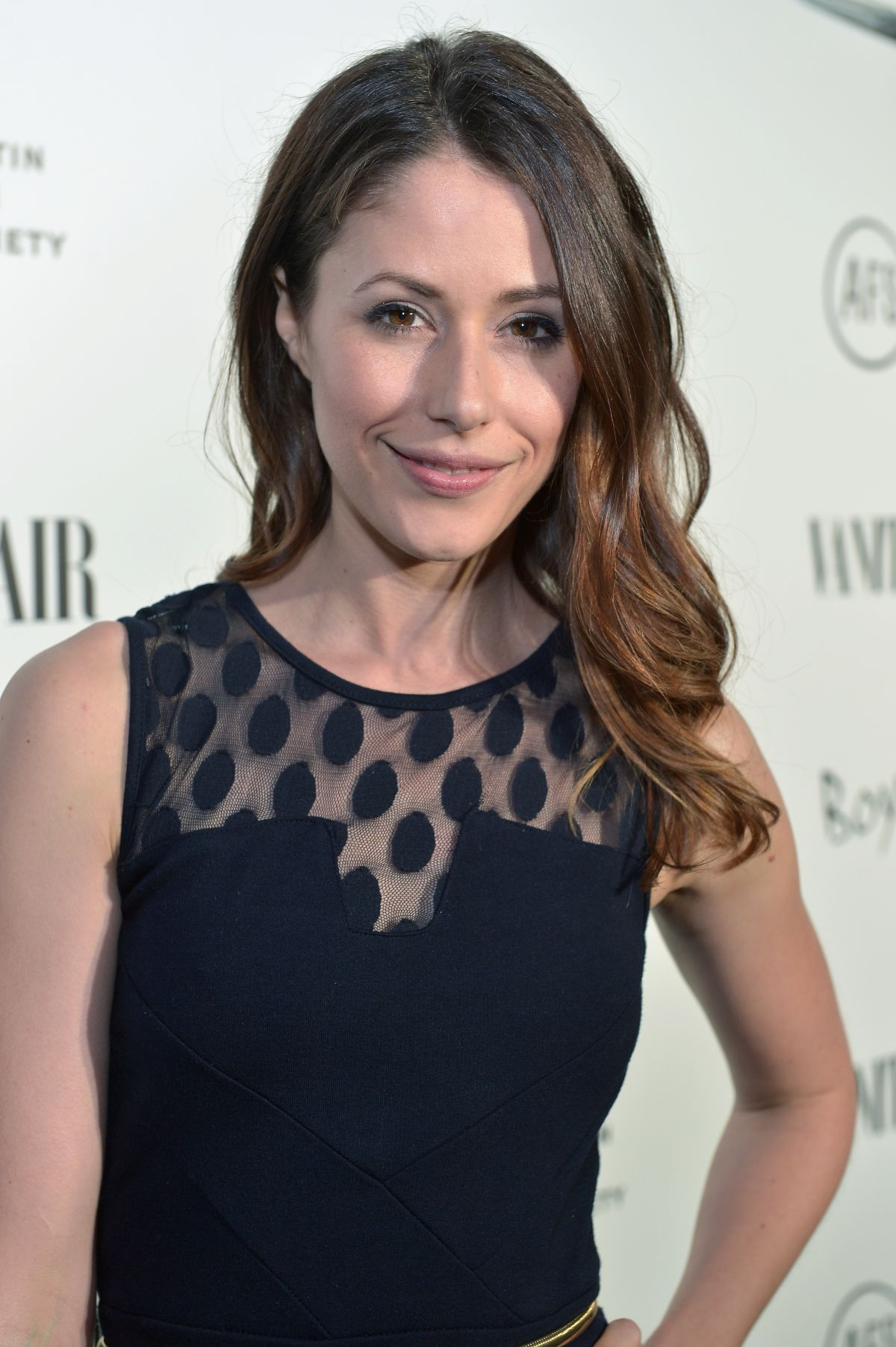 AMANDA CREW at Vanity Fair and Chrysler Celebration of Richard Linklater and Boyhood in Los Angeles
