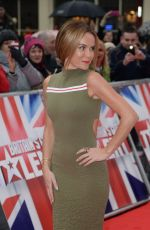 AMANDA HOLDEN at Britain's Got Talent Audition in Birmingham