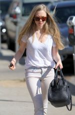 AMANDA SEYFRIED Out and About in West Hollywood 2502