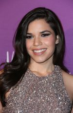 AMERICA FERRERA at Hollywood Reporters Nominees Night in Beverly Hills