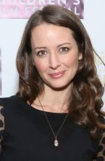 AMY ACKER at Tinker Bell and the Legend if the Neverbeast Screening in New York