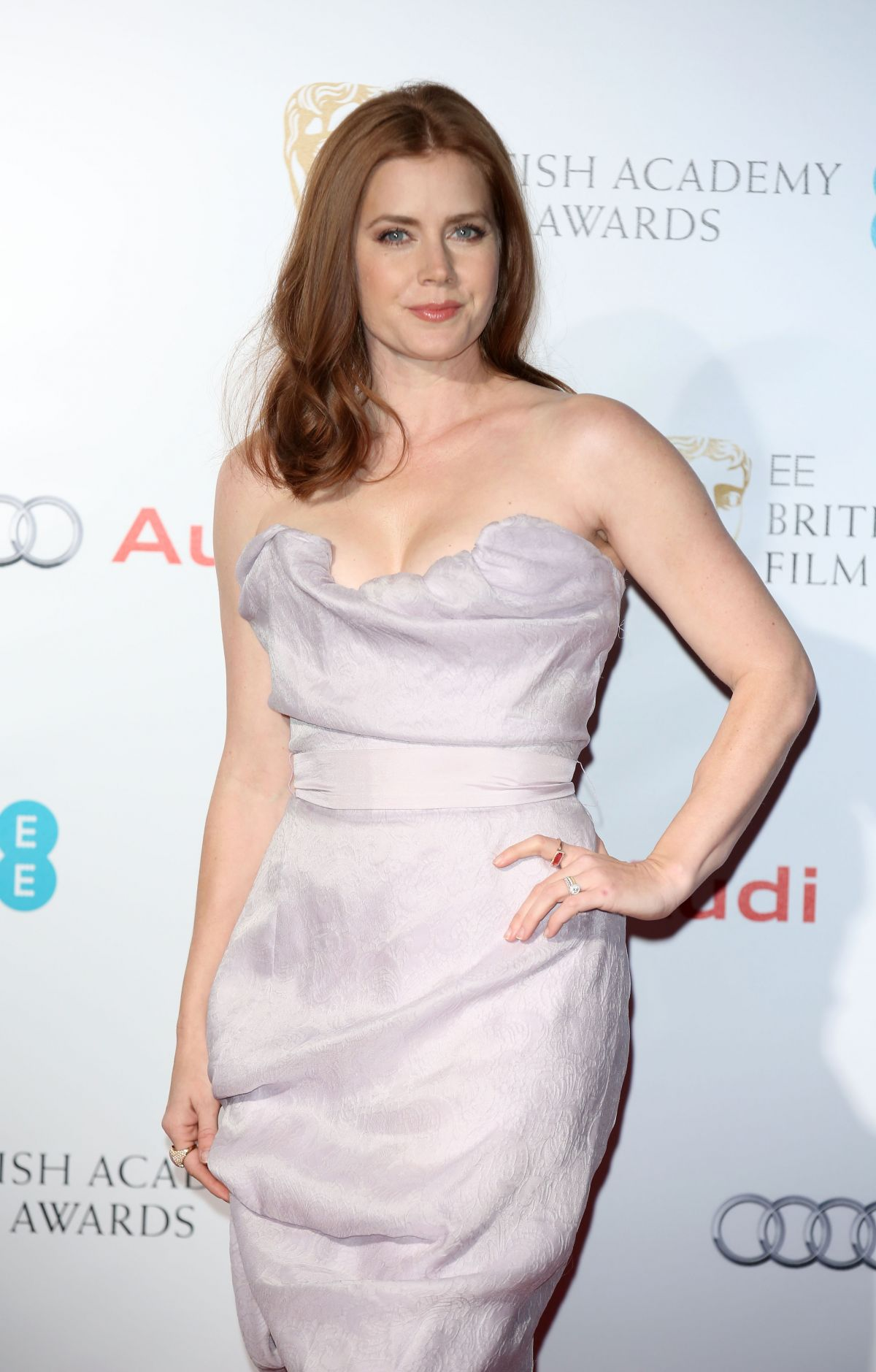 AMY ADAMS at British Academy Awards Nominees Party in London