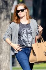 AMY ADAMS in Jeans Out in Beverly Hills 0502