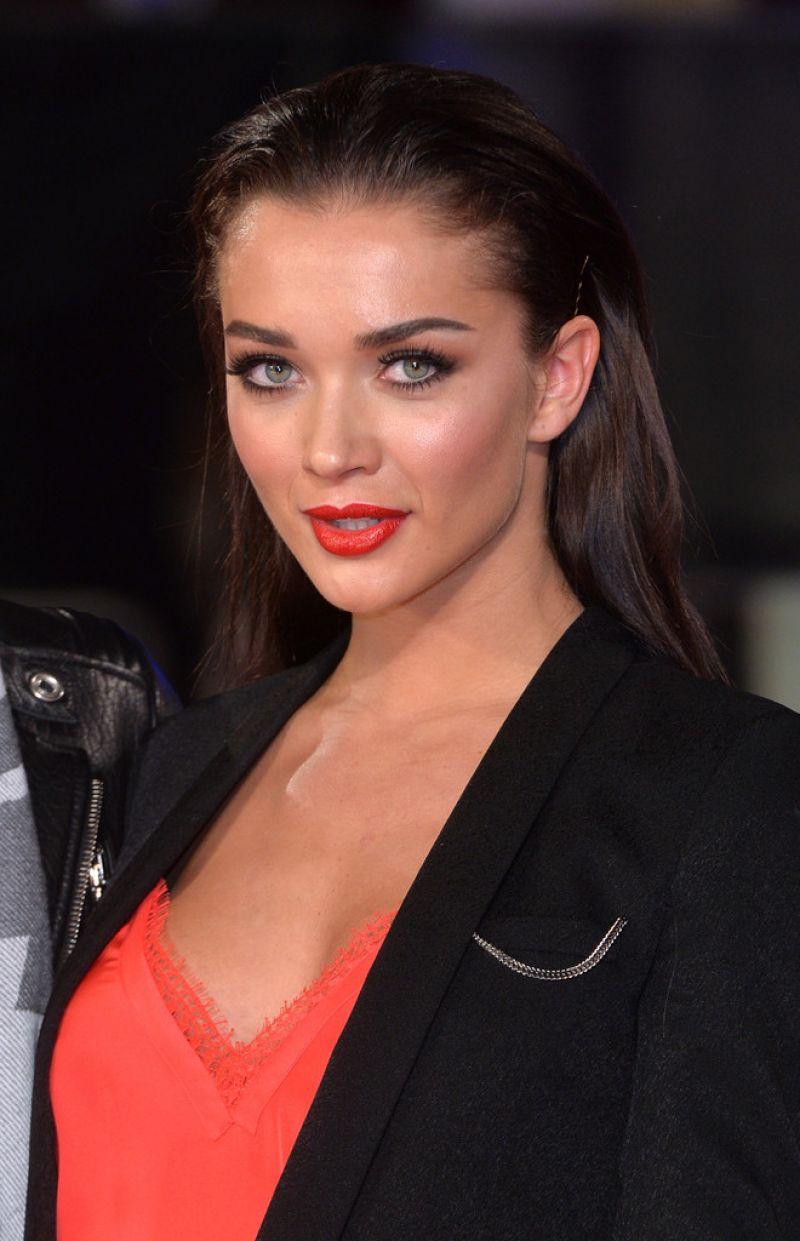 AMY JACKSON at Focus Screening in London