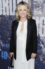 AMY POEHLER at SNL 40th Anniversary Celebration in New York