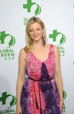 AMY SMART at Global Green USA Pre-oscar Party in Hollywood