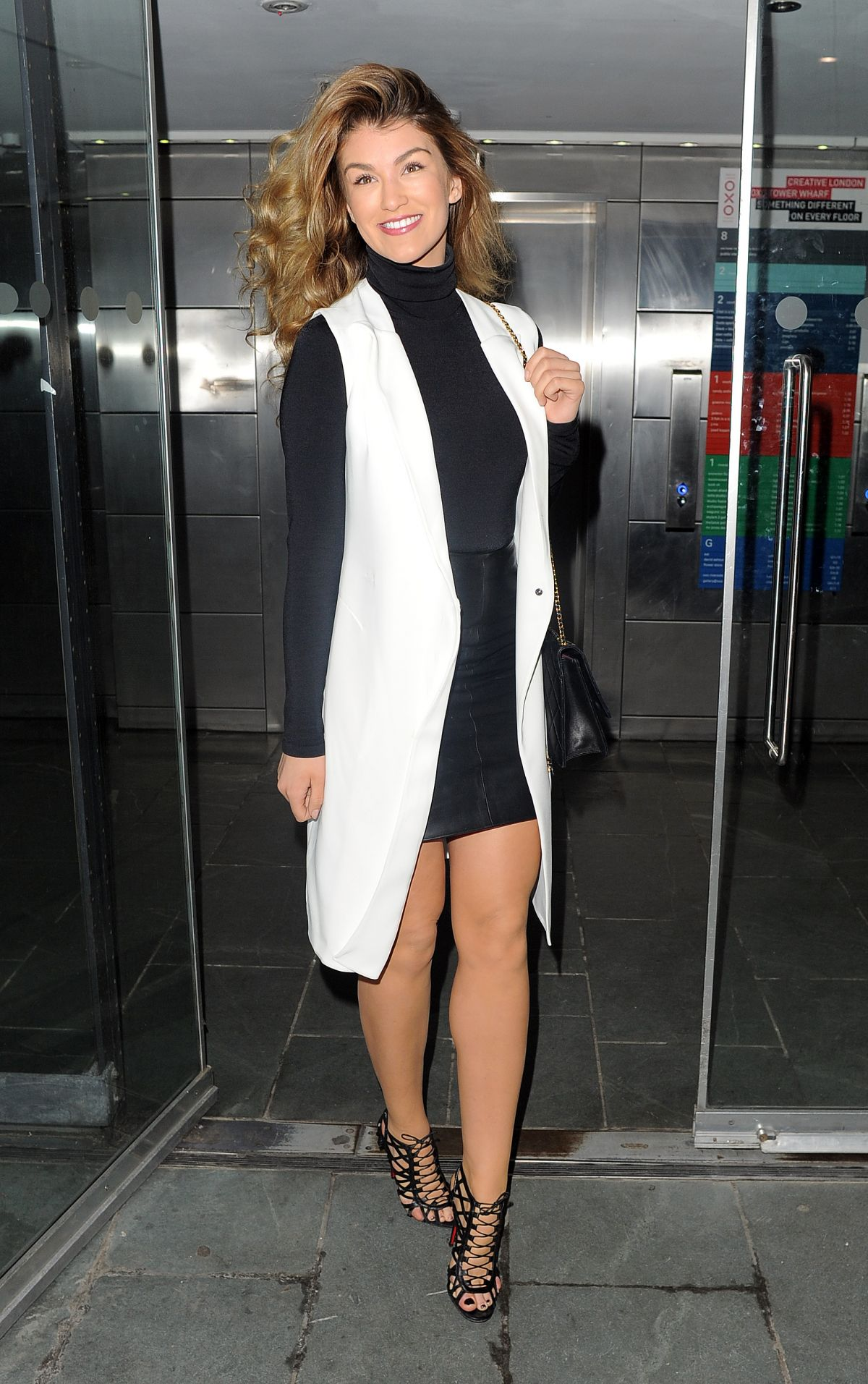 AMY WILLERTON at John Frieda Launch Party in London