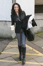 ANDREA MCLEAN Leaves ITV Studios in London 0502