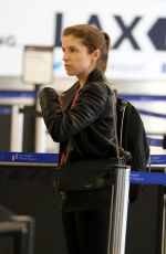 ANNA KENDRICK at Los Angeles International Airport 1802