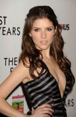 ANNA KENDRICK at The Last Five Years Premiere in Hollywood
